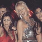 Una antigua foto de Kim Kardashian con Paris Hilton