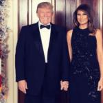 Melania rechaza la mano de Trump (otra vez)