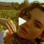Kendall Jenner en un campo de girasoles