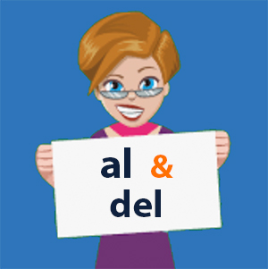 Spanish contractions al and del