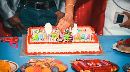 Spanish Vocabulary and Phrases at a Birthday Party