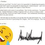 La increíble carta de Trump al presidente turco