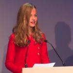 La futura reina de España exhibe su nivel en 4 idiomas