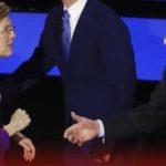 Tensión entre Bernie Sanders y Elizabeth Warren en el último debate demócrata
