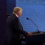 Lamentable primer debate entre Trump y Biden