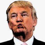 """Trump a su público: """"Voy a besaros a todos"""""""