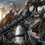 Velocicoaster, la montaña rusa inspirada en Jurassic Park