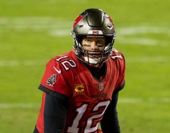 Tom Brady en acción