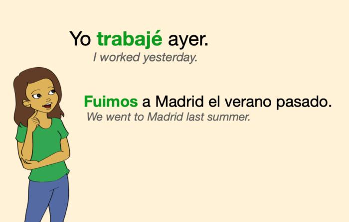 A couple of sentences in Spanish Preterite Tense