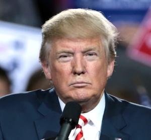 Una foto de Trump